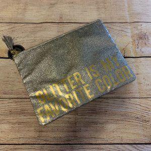 Glitter Make-up Bag NWT